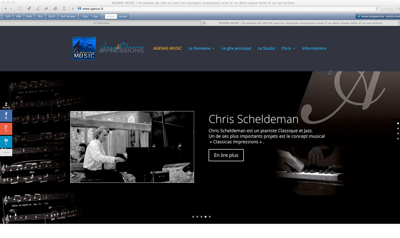 site Agenas Music