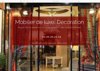 Madélia Mobilier de luxe Paris
